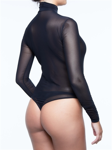 Bodystocking - Sheer Bodysuit i net