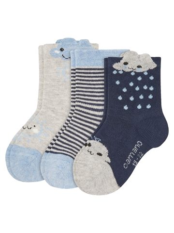 Babystrømpe - Camano - Fashion - Blue