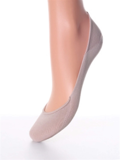 Dame Footies Nylon - Nude
