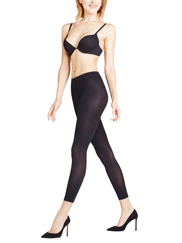 Leggings Capri - Falke Pure Matt 50 - Sort