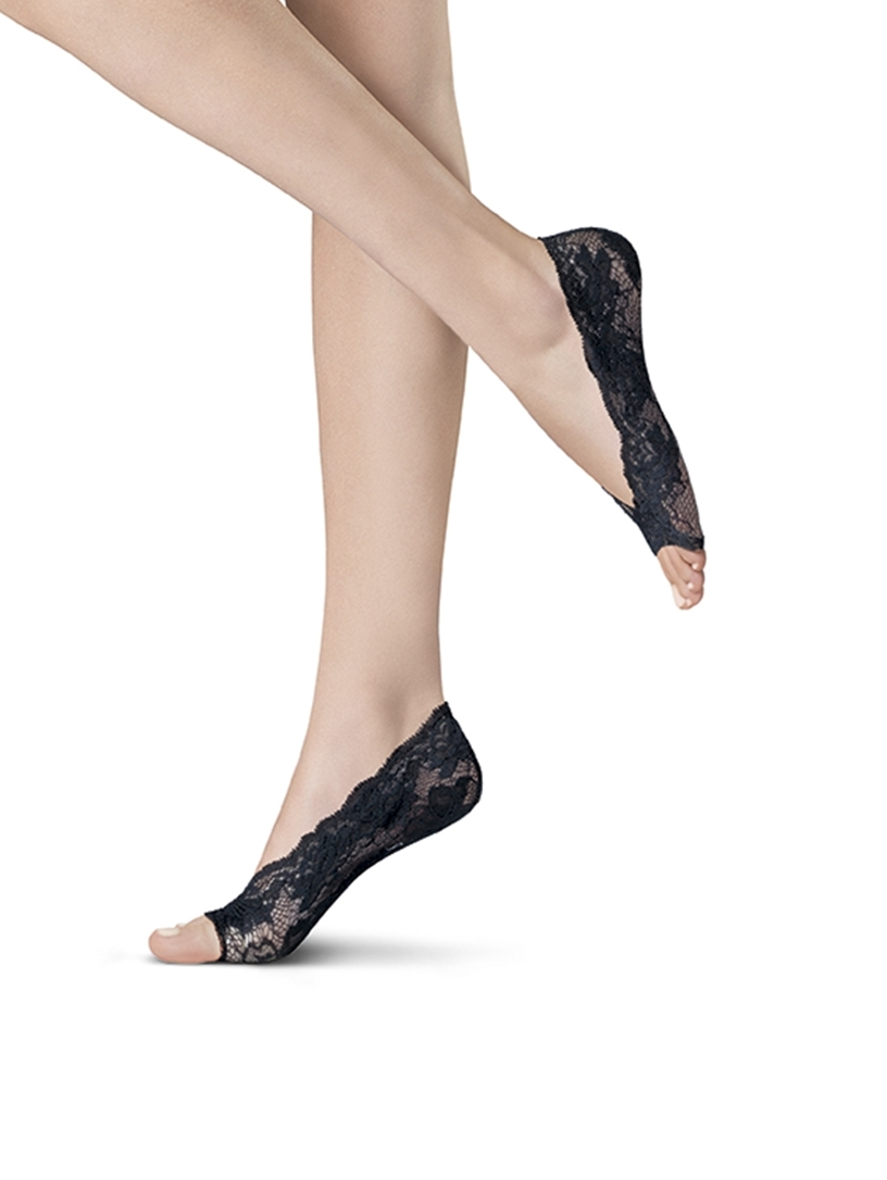 Steps - Oroblu Lace step - open toe - Sort