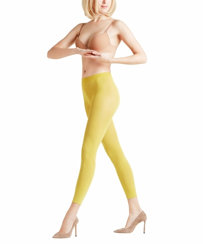 Leggings - Falke Cotton Touch - Deep Yellow