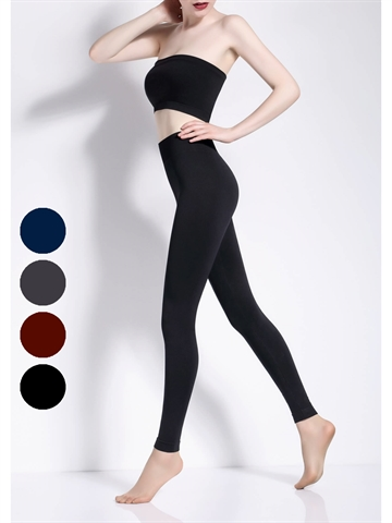 Leggings - Seamless Model 2 - Sort