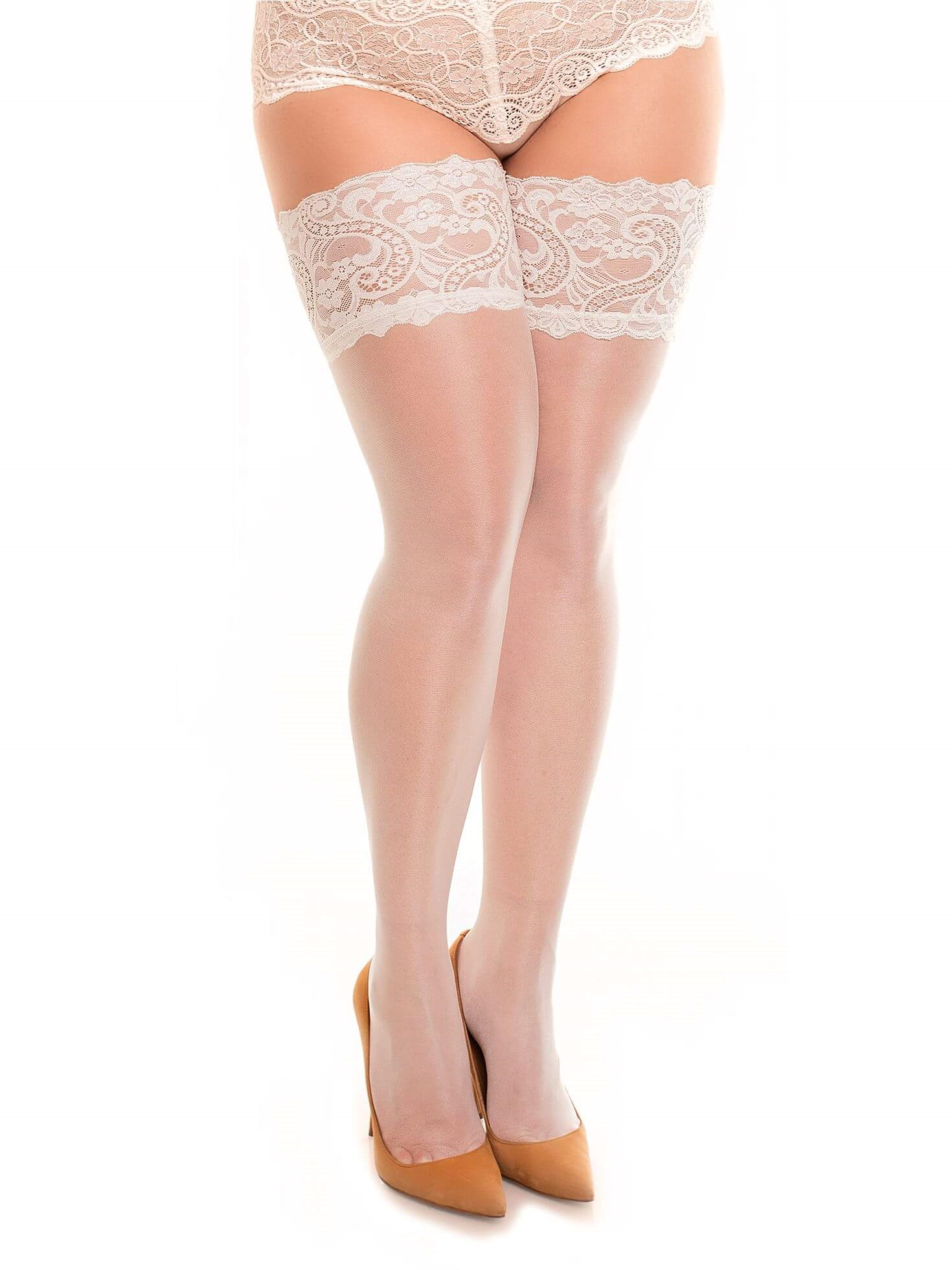 Stockings - Dream 20 Champagne Plussize