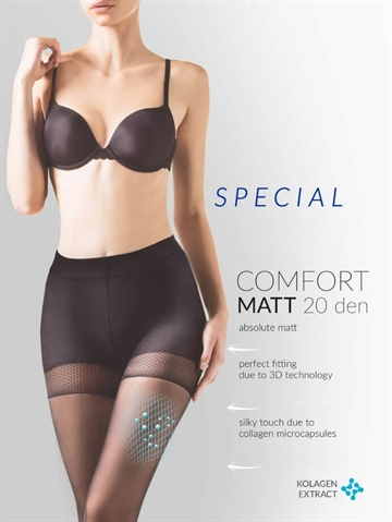 Shapewear - Comfort Matt 20 - Sort