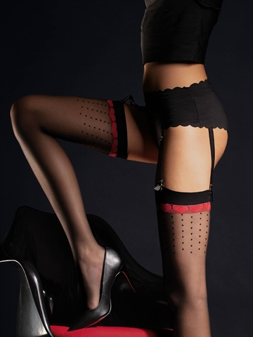 Stockings - Lovely - Sort