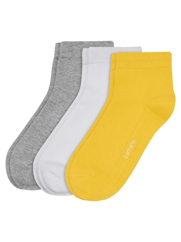 Unisexstrømpe Ca-Soft Quarter - Super Lemon