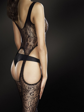 Body stockings - Venus - Sort