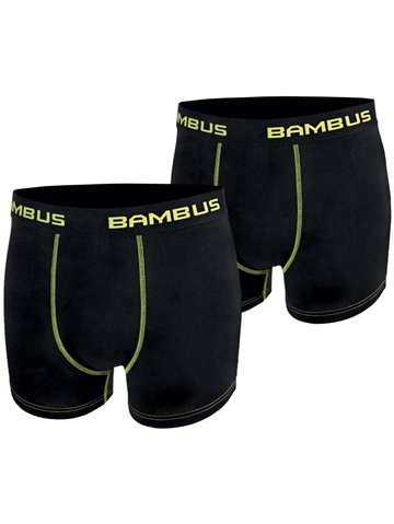 Boxer Shorts Bambus - Sort