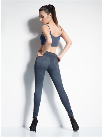 Leggings - Leggy Jeans Model 2 Grå