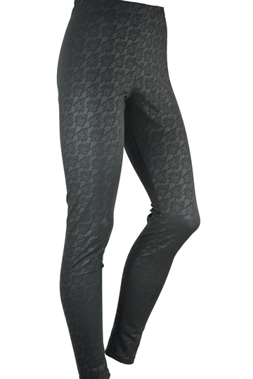 Leggings Leggy Strong Model 10 Røgfarvet
