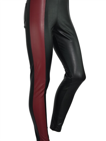 Leggings - Leggy Strong Model 4 - Deep Red