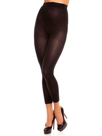 Leggings Velvet 80 - Sort