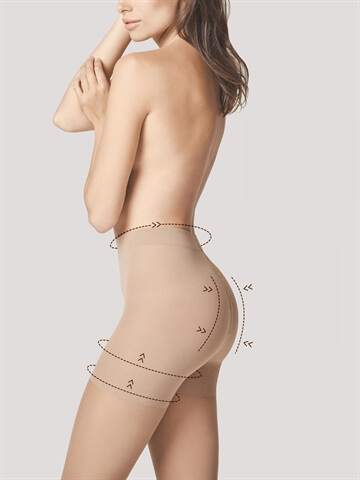 Shapewear Total Slim 20 Lys Natur